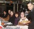 30 e poucos anos…. Psicóloga Tatiane Canivier recebe amigo em noite Italiana para comemorar seu aniversario