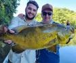 Valcir Bernardi aproveita dias de pesca esportiva com amigos no Mato Grosso