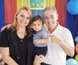 Radiodifusor e comunicador Valdomiro Cantini celebra o primeiro ano de seu neto Davi